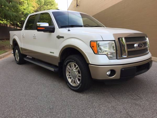2012 FORD F-150 KING RANCH! SADDLE LEATHER SEATS! BACK UP CAMERA!
