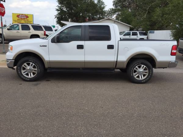 2008 FORD F150 SuperCrew Lariat, 4X4, 164k miles