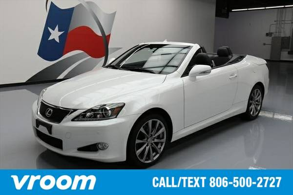 2014 Lexus IS 250C 2dr Convertible Convertible 7 DAY RETURN / 3000 CAR