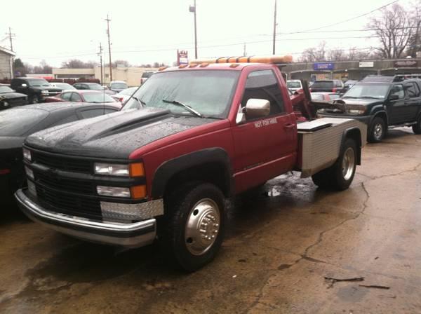 1996 Chevrolet 3500 tow truck repo truck