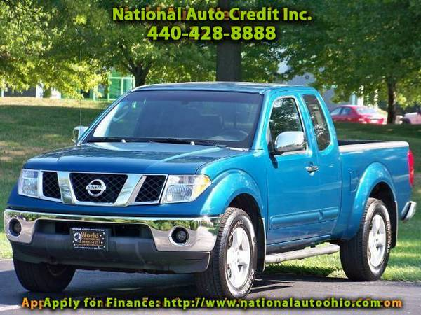 2005 Nissan Frontier SE King Cab 4WD. 1 Owner Vehicle. Alloy Wheels. F