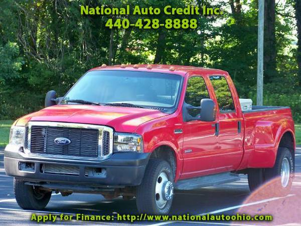 2006 Ford F-350 SD XLT Crew Cab Long Bed 4WD DRW heathed leather sea