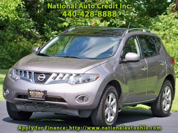 2009 Nissan Murano SL AWD Low Mileage Vehicle. Leather Seats. Sun Roo