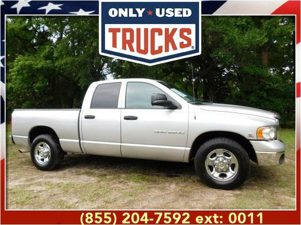 2004 *Dodge Ram 2500* SLT (6cyl, 5.9L, 305.0hp) WE SPECIALIZE IN...