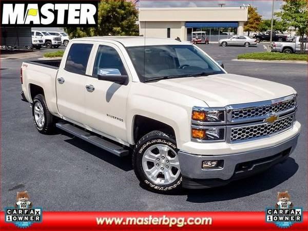 2014 *Chevrolet SILVERADO 1500* LT - (Pearl White)