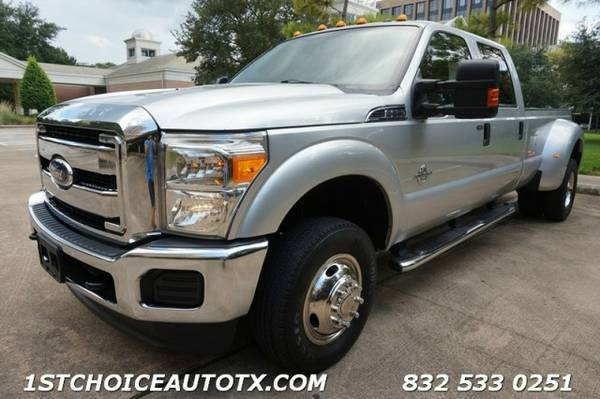 2011 Ford Super Duty F350 F-350 DRW 4WD Crew Cab CAMERA CUSTOM...