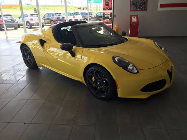 NEW 4C SPIDER LOADED *