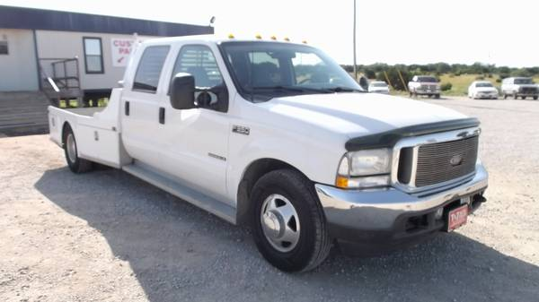 2002 Ford F-350 SD Lariat Crew Cab Long Bed Western Hauler