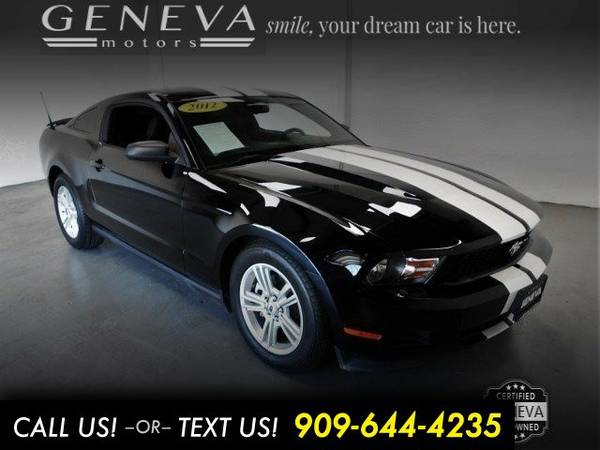2012 Ford Mustang Coupe 2D