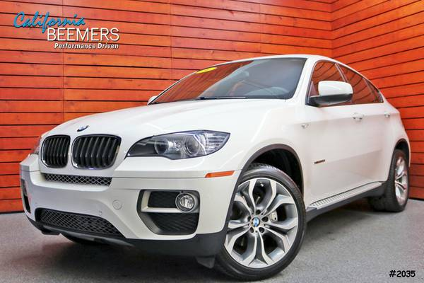 2014 BMW X6 xDrive35i M Sport X Series Alpine White