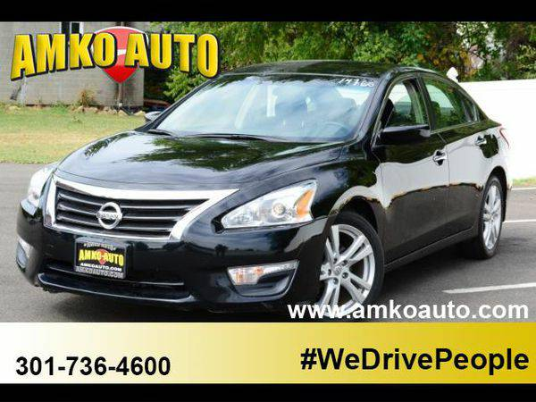 2013 *Nissan* *Altima* 3.5 SV We can get you approved! Call Today!