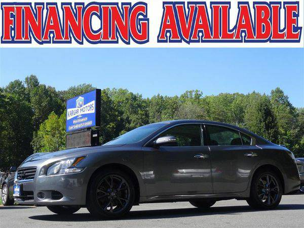 2014 *NISSAN* *MAXIMA* 3.5 S WE FINANCE EVERYONE! CALL NOW!!!