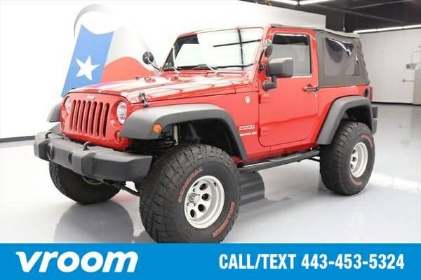 2012 Jeep Wrangler Sport 7 DAY RETURN / 3000 CARS IN STOCK