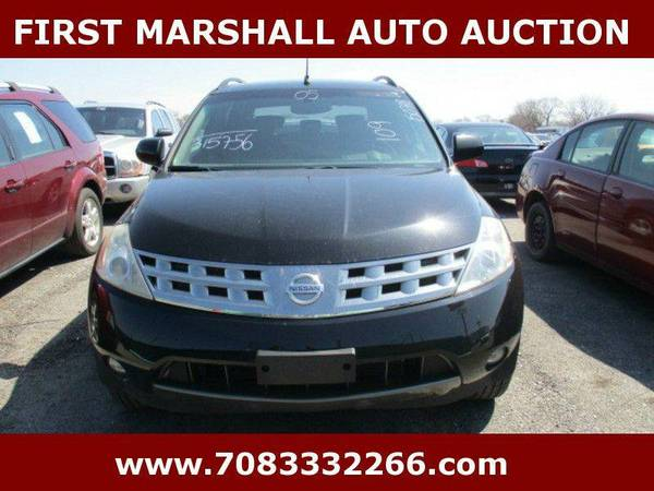 2005 Nissan Murano SE 4dr SUV - First Marshall Auto Auction