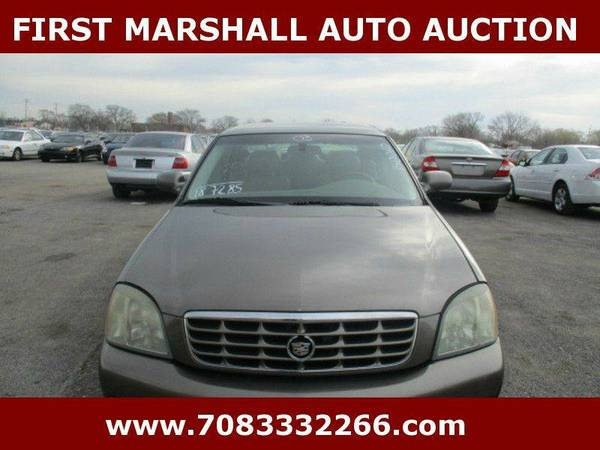 2003 Cadillac DeVille DHS 4dr Sedan - First Marshall Auto Auction