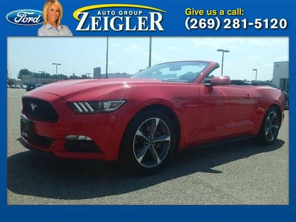 2015 Ford Mustang V6 Convertible Mustang Ford