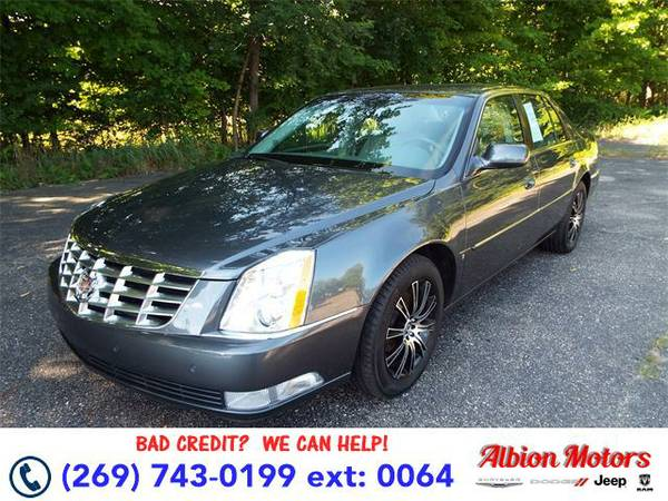 2009 *CADILLAC DTS* - CADILLAC Gray Flannel