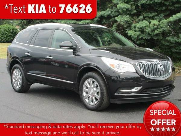 2014 *Buick Enclave* FWD 4dr Leather - Carbon Black Metallic
