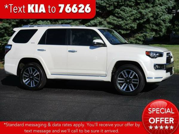 2015 *Toyota 4Runner* 4WD 4dr V6 Limited - Blizzard Pearl