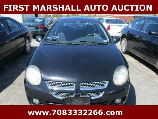 2003 Dodge Neon SXT 4dr Sedan - First Marshall Auto Auction