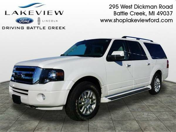 2013 *Ford Expedition EL* Limited - White