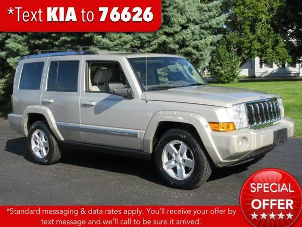 2008 *Jeep Commander* 4WD 4dr Limited - Light Graystone Pearl