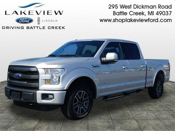 2015 *Ford F-150* - Silver