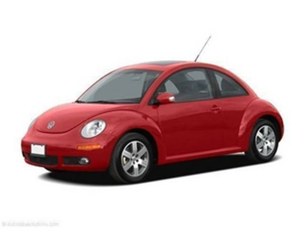 2006 *Volkswagen New Beetle Coupe* TDI (White)