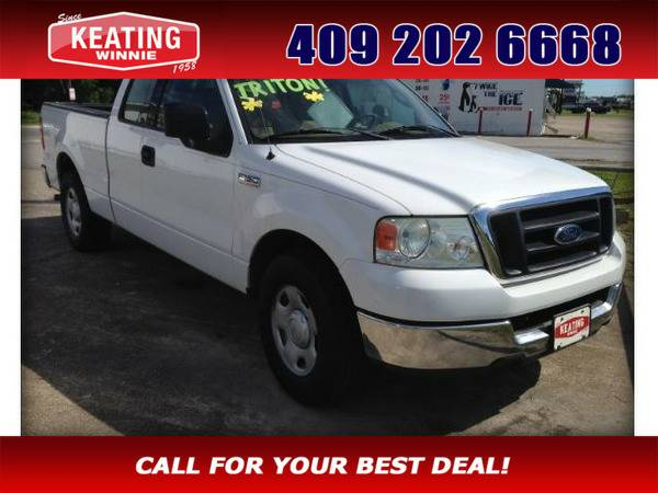 2004 Ford F-150 F150 Lariat SuperCab 5.5-ft Box 2WD White