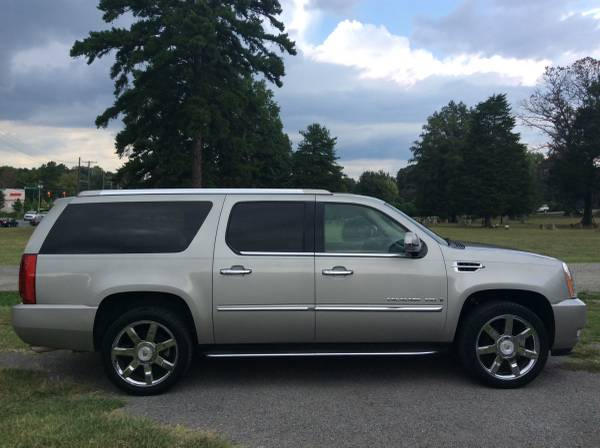 09-Cadillac Escalade ESV-AWD! 1 Owner!Local Trade!Nav!DVD!Loaded!