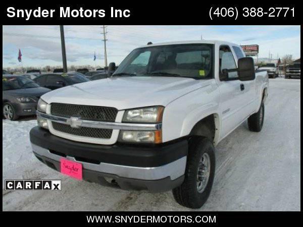 04 Silverado 2500HD/Only 89K/New Tires/6.0L/4X4