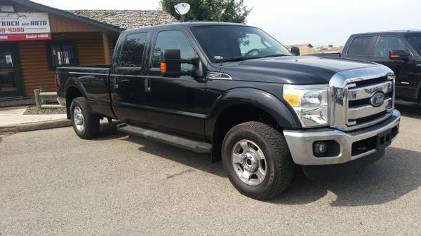 LIKE NEW! 2014 Ford F-250 Crew Cab 4X4 Longbed with 53K Miles
