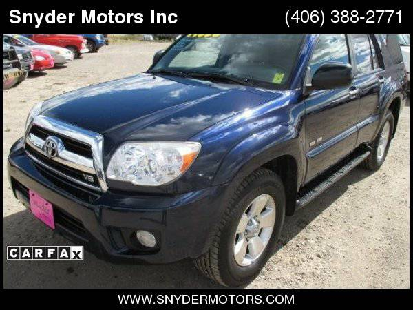 2007 Toyota 4Runner 1 OWNER 18 Service Records Clean! New Tires! TIMIN