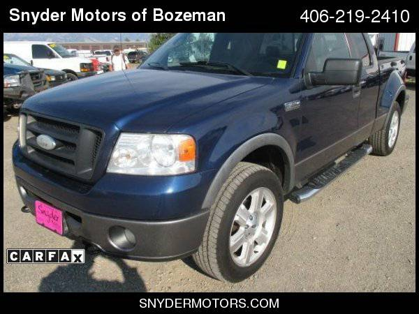 2007 Ford F-150 StepSide FX4 Leather SunRoof 118K Easy Financing