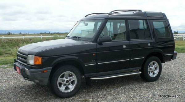 1998 Land Rover Discovery LE; LSE