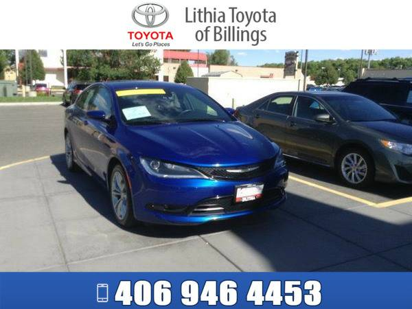 *2015* *CHRYSLER 200* *S* *BLUE*
