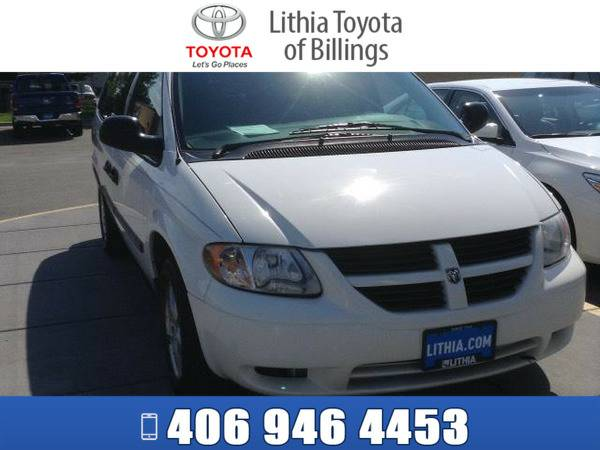*2007* *DODGE GRAND CARAVAN* *SE* *STONE WHITE CLEAR COAT*