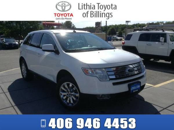 *2010* *FORD EDGE* *LIMITED* *WHITE*
