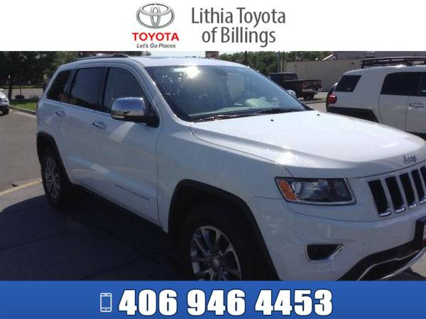 *2014* *JEEP GRAND CHEROKEE* *LIMITED* *WHITE*
