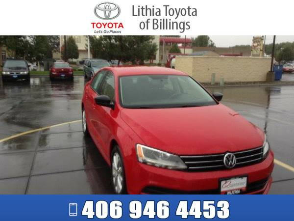 *2015* *VOLKSWAGEN VW JETTA SEDAN* *SE* *RED*