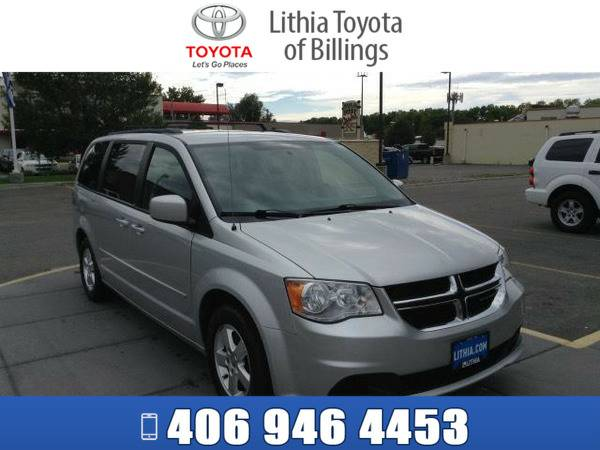 *2012* *DODGE GRAND CARAVAN* *MAINSTREET* *BRIGHT SILVER CLEAR COAT*