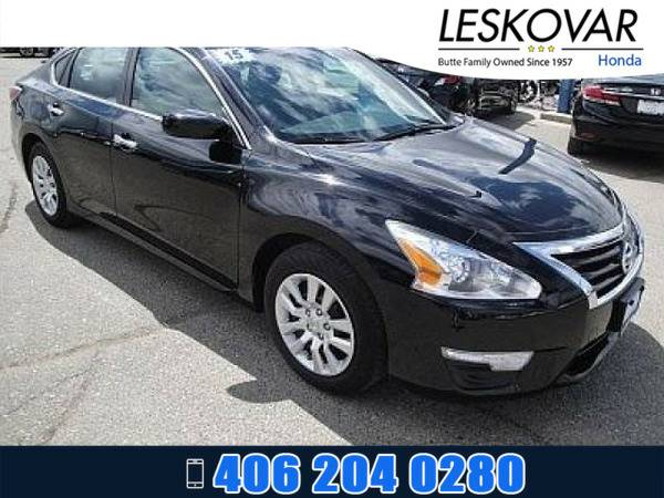 *2015* *Nissan Altima* *4dr Car 2.5 S* *Super Black*