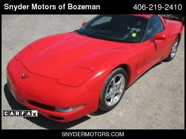 2001 Chevrolet Corvette Targa Top Heads Up Display Clean 93K