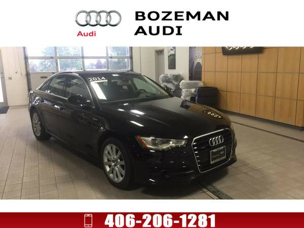 2014 Audi A6 3.0T Brilliant black