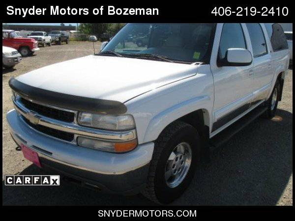 2002 Chevrolet Suburban Wholesale 166K Leather DVD 3Rd Row Seating