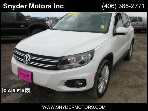 2013 Volkswagen Tiguan Rare 4Motion AWD 2.0L Turbo New Tires