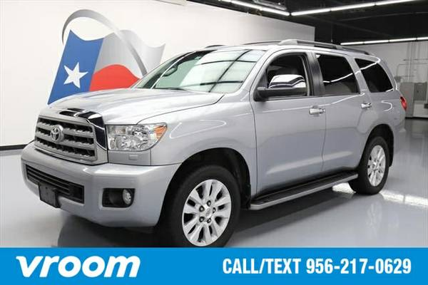 2012 Toyota Sequoia Platinum 5.7L V8 7 DAY RETURN / 3000 CARS IN STOCK