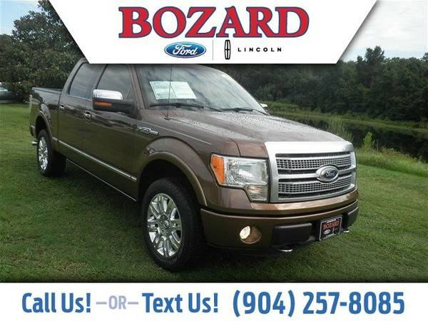 2011 Ford F-150 Platinum Truck F-150 Ford