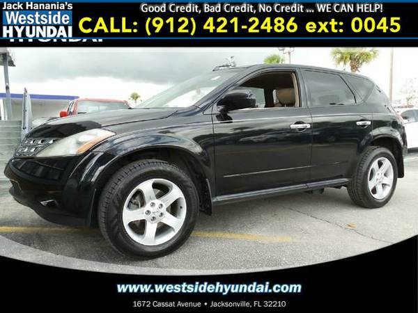 2005 *NISSAN MURANO* S (Super Black Clearcoat)