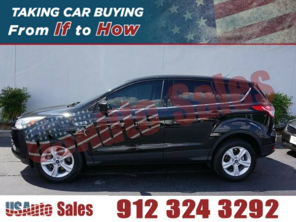 2013 FORD ESCAPE SE ECOBOOST BLACK